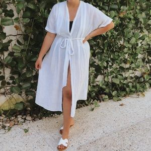 H&M beach coverup